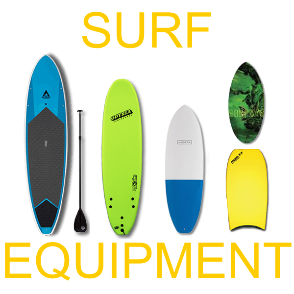 SURF EQUIPMENT RENTALS